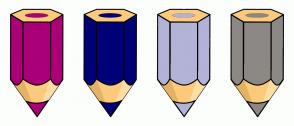 Color Scheme with #AA0078 #000078 #B3B3D7 #8C8984