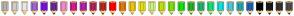 Color Scheme with #B3B3B3 #CCCCCC #E6E6E6 #9B66CF #7812DF #642C8F #EE88CD #D31D8C #AE23A5 #AE235F #AE2C23 #FF0000 #DF7812 #E6C318 #DFDF12 #CEEE88 #BCDD11 #78DF12 #12DF12 #23AE2C #23AE72 #12DF78 #12DFDF #4DC5D6 #23A5AE #235FAE #000000 #1A1A1A #333333 #4D4D4D
