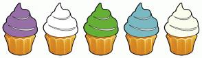 Color Scheme with #966FA6 #FFFFFF #65AF35 #7AB9C2 #FAFDEC