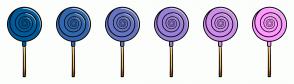 Color Scheme with #005B9A #3367AE #6674C2 #9980D7 #CC8DEB #FF99FF