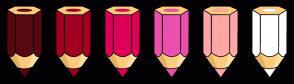 Color Scheme with #570810 #A10020 #DE0059 #EB50AD #FFA6A6 #FFFFFF