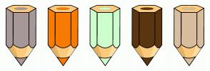 Color Scheme with #A79898 #F77B05 #CCFFCC #5C3510 #D8BD9F