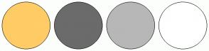 Color Scheme with #FFCC66 #6B6B6B #B7B7B7 #FFFFFF