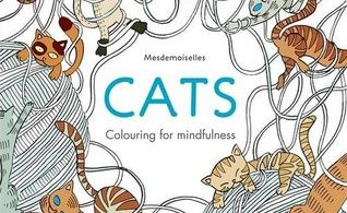 Mesdemoiselles cats colouring for mindfulness