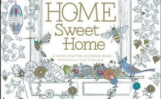 Home Sweet Home Adult Coloring Book
