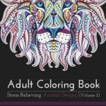 Adult Coloring Animal Designs by Blue Star