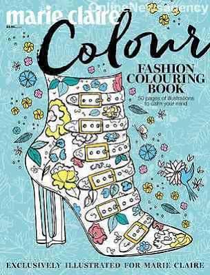 shopping - Marie Claire Fashion Colouring Book