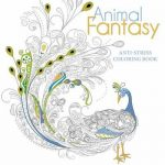 Animal Fantasy Anti Stress Colouring Book
