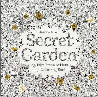 secret - Secret Garden: An Inky Treasure Hunt and Colouring Book