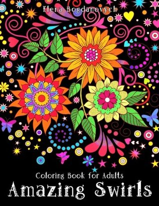 Coloring Book for Adults - Amazing Swirls