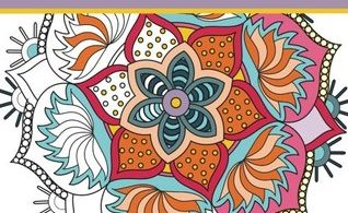 Coloring Book For Seniors & Beginners