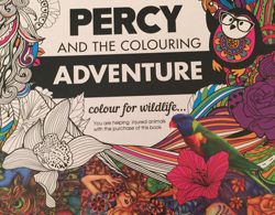 Percy cover 250x195 - Groovy Abstract Coloring Book - Coloring Book Review