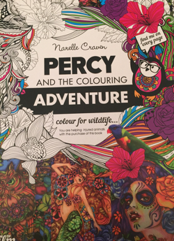 Percy cover - Percy And The Colouring Adventure - Colouring Book Review