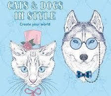 catsanddogsfeaturedimage 224x195 - Cats in Paris - Coloring Book Review
