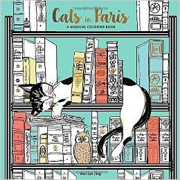 catsinparis - Cats in Paris - Coloring Book Review