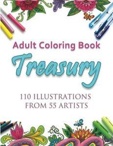Adult Coloring Book Treasury