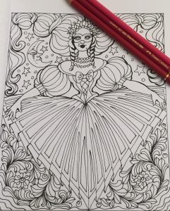 Romantic Italy Coloring Book For Grown Ups