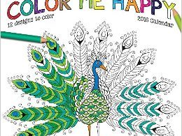ColorMeHappy2016Calendar 260x195 - Remarkable Imagery - Adult Coloring Magazine Review