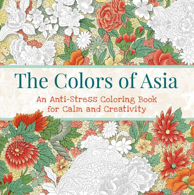 thecolorsofasia 810x813 - The Colors of Asia Coloring Book Review
