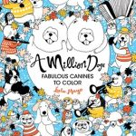AmillionDogs 150x150 - Escape To Wonderland  - A Colouring Book Adventure
