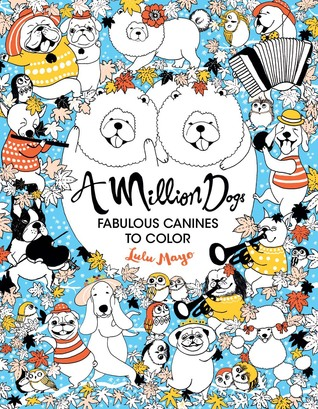 A Million Dogs - Coloring Book Review | Coloring Queen