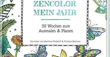 zencolor 375x195 - A Million Dogs - Coloring Book Review