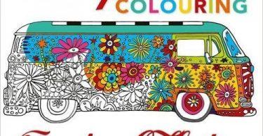CampervanColouringBook 375x195 - Zencolor Mein Jahr (My Year)  52 Week Journal