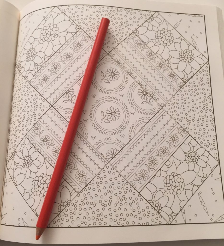 Farmer's Wife Sampler Quilt Coloring Book