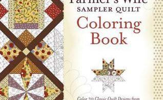 TheFarmersWifeSamplerQuilt 318x195 - The Art of Laurel Burch - Coloring Book Review