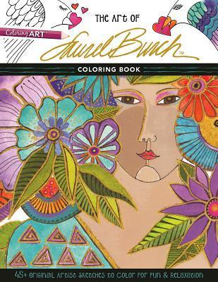 Theartoflaurelburch - The Art of Laurel Burch - Coloring Book Review