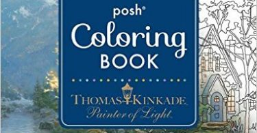 Thomas Kinkade Painter Of Light ColoringBook 375x195