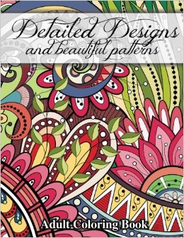 Detailed Designs - Detailed Designs Coloring Book Review