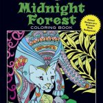 MidnightForest 150x150 - Animals Night & Day Colouring Book