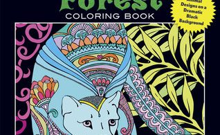 MidnightForest 318x195 - Spellbinding Images - A Fantasy Coloring Book - Volume 2