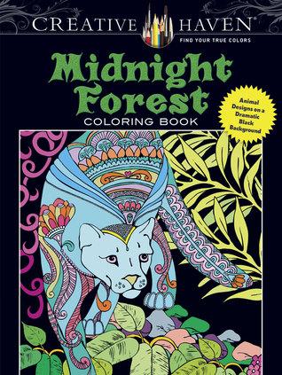 MidnightForest - Midnight Forest Coloring Book Review