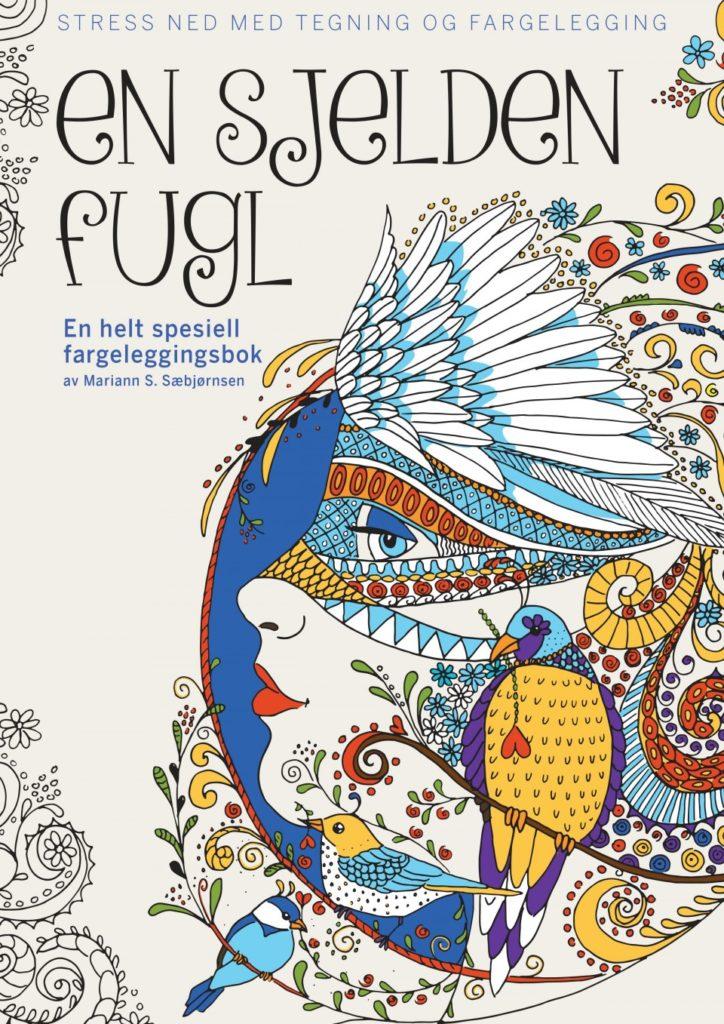ensjeldenfugl - En Sjelden Fugl - (A Rare Bird)  Coloring Book Review