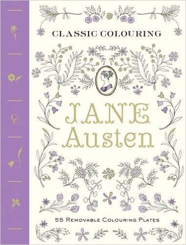 Classic Coloring – Jane Austen – Coloring Plates