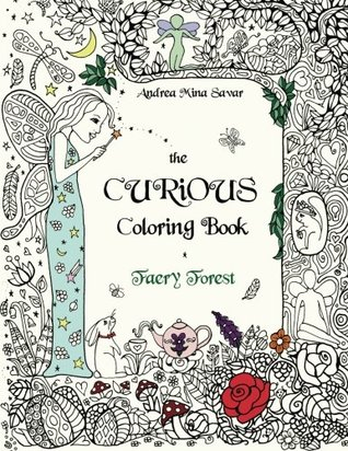 Faeryforest - The Curious Coloring Book - Faery Forest Review