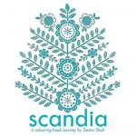 Scandia Colouring Book