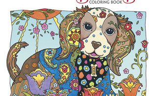 DazzlingDogs 318x195 - The Magical Journey - A Colouring Book Review