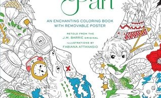 PeterPan 318x195 - Alice in Wonderland - An Enchanting Coloring Book - Fabiana Attansio