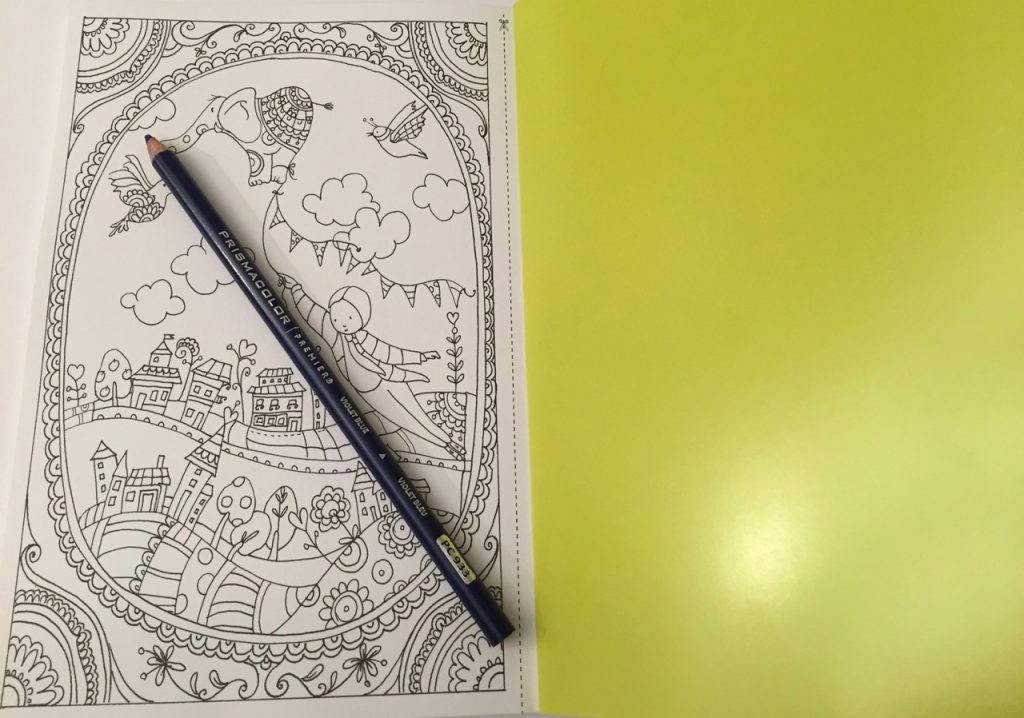 Yonat Katzir Coloring Book - Images on the left hand side