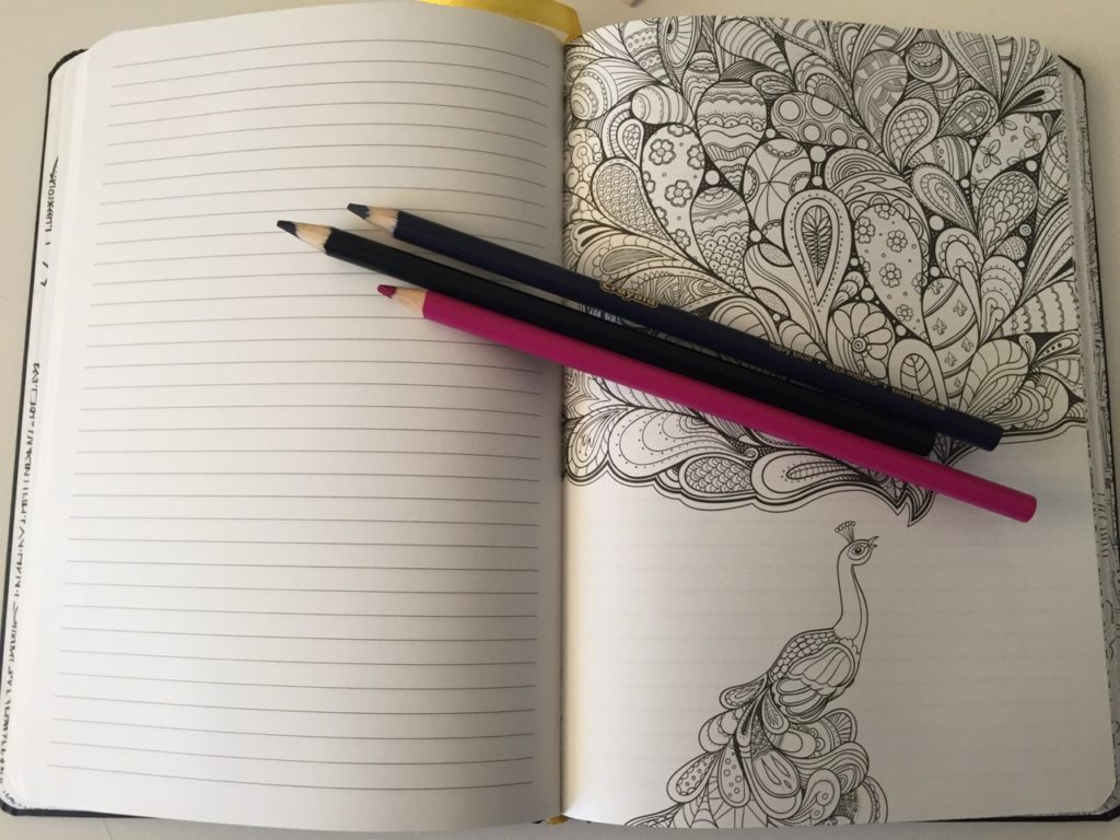 Colouring notebook review