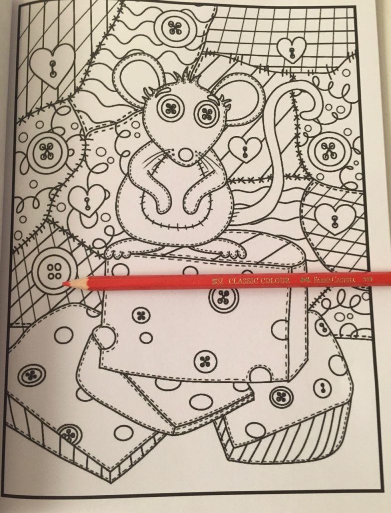 Stitch'd colouring book review