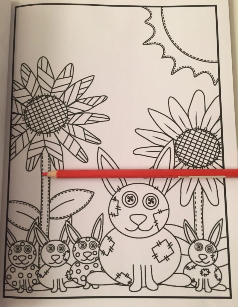 Stitch'd coloring book review