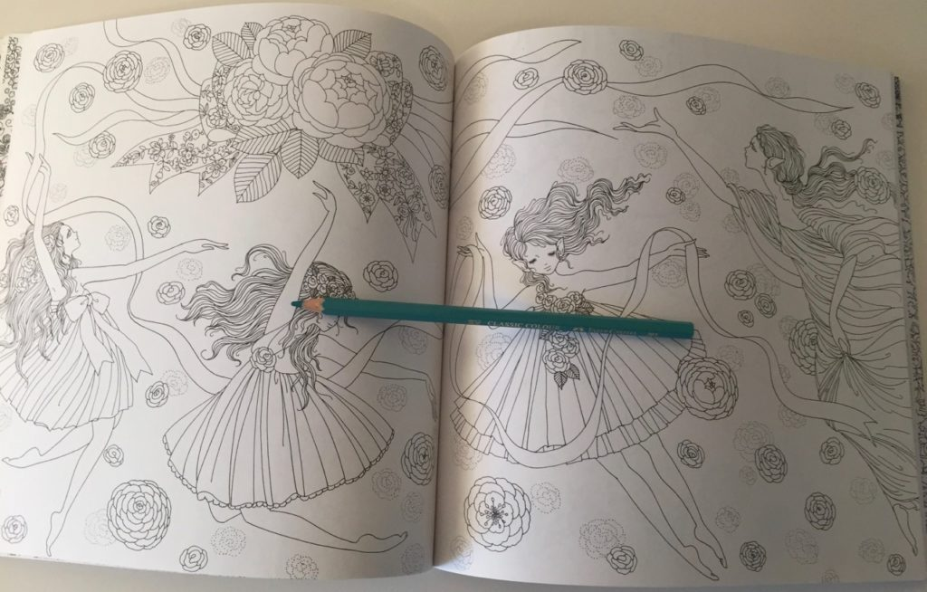Princesses & Fairies Colouring Book Review