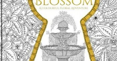 summerblossom 375x195 - Animals Night & Day Colouring Book