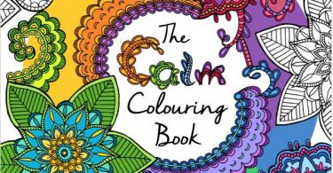 the calm coloringbook 375x195 - The Menagerie - Animal Portraits to Color