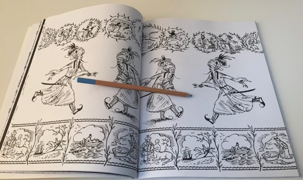 Chronicles of Narnia - double page scene