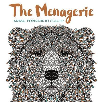 themenagerie - The Menagerie - Animal Portraits to Color